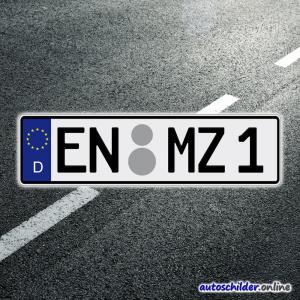 Euro Kennzeichen 420 x 110mm