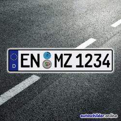 Euro Kennzeichen 520 x 110mm
